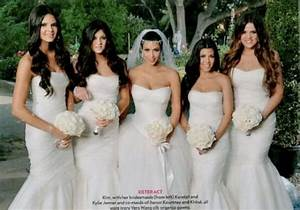 Seven things britt learnt from kim kardashian39s first wedding for Kim kardashian s wedding dress