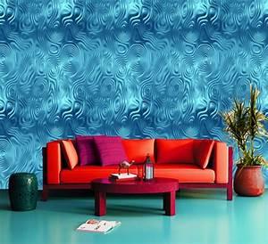 Tropical Water Climax, Sea, Ocean Blue 3D wallpaper wall ...