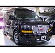 2018 GMC Savana Multi Van Design  YouTube