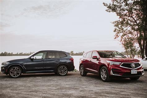 Acura Rdx 2019 Vs 2020 by 2018 Bmw X3 Vs 2019 Acura Rdx Comparison Motor