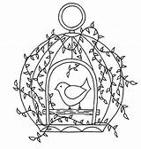 Coloring Cage Bird Pages Open Door Luke Drawing Cages Tocolor Drawings Printable Getcolorings Houses Colors Place Doors Button Using sketch template