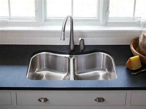kohler staccato kitchen sink staccato mount bowl kitchen sink k 3899 6700
