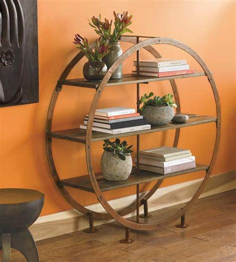 love  simple whimsy   circular standing shelves