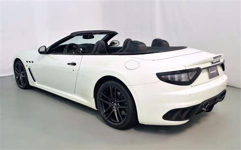 2013 Maserati Granturismo Mc Convertible Sport For Sale In