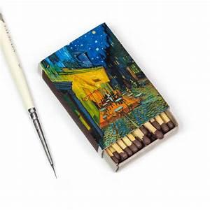 Dipinti Di Van Gogh Ricreati Su Scatole Di Fiammiferi Da Salavat Fidai