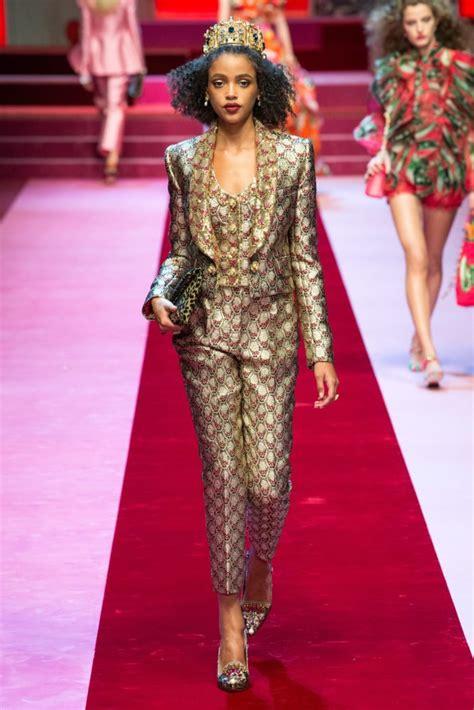 Show Review: Dolce & Gabbana Spring 2018 – Fashion Bomb ...