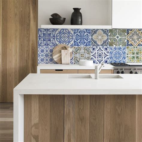 Kitchen Walls Keukenbehang Portugal Tiles  For Our New