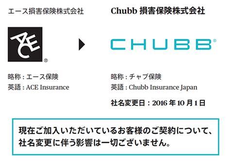 Chubb 損害 保険 株式 会社