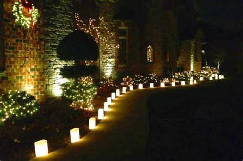 christmas decorative lighting flic luminaries