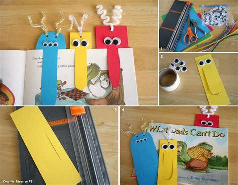 lesezeichen basteln grundschule simple bookmark diy projects usefuldiy