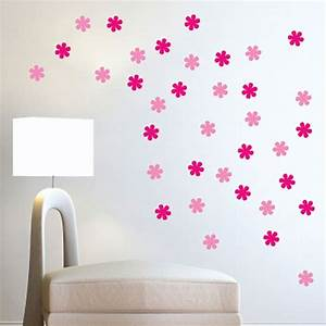 flower wall stickers floral wall decor With flower wall decals