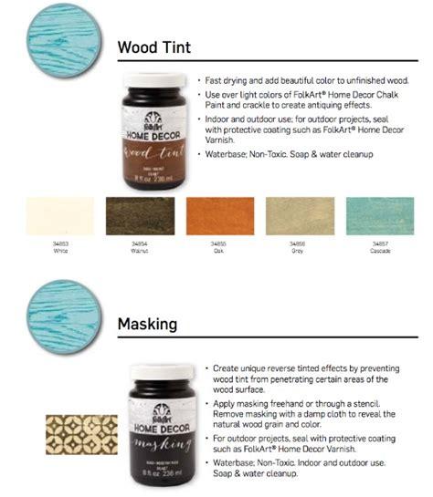 Tinted Varnish Color Chart