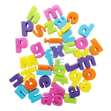 magnetic alphabet letters 40 mini alphabet letters fridge magnets multicolured ebay