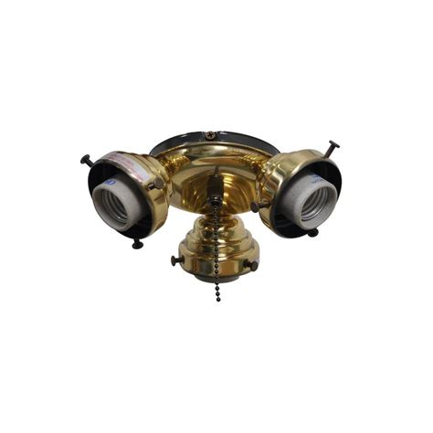 ceiling fan hardware kit air cool sinclair 44 in flemish brass ceiling fan