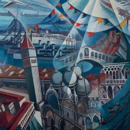 George Cornici Gerardo Dottori Venezia Festa 1932 Scales Cities