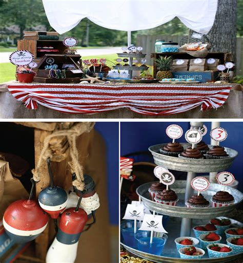 Kara's Party Ideas Pirate Party Planning Ideas Supplies