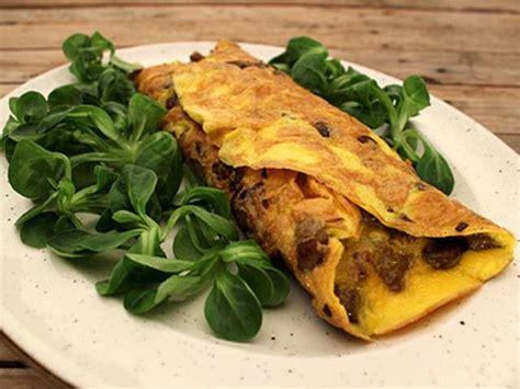 cepes cuisine lalloux omelette aux chignons forestiers