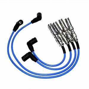 New Ignition Cable Wires Spark Plug Wire Fit Vw Golf Jetta