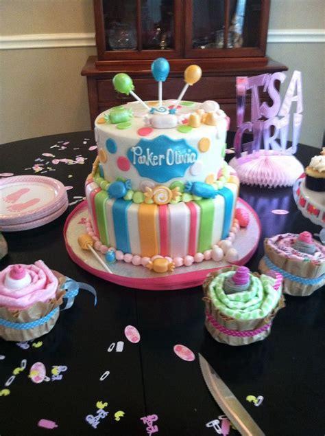 baby shower cake sugar  spice harris baby shower