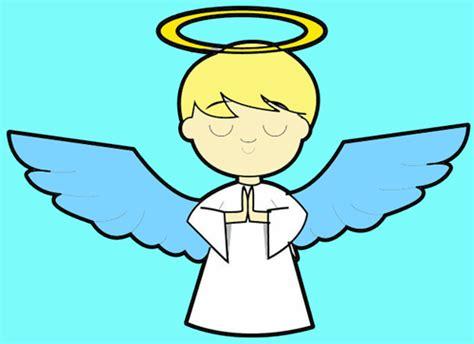 draw cartoon angels  easy step  step drawing