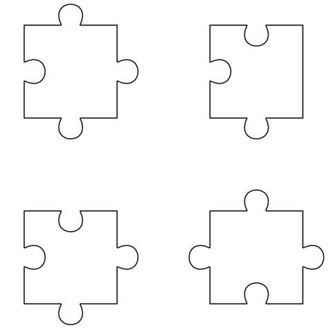 3 piece puzzle template