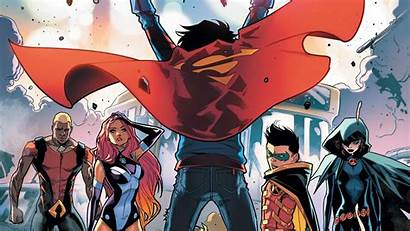 Titans Teen Raven Dc Superboy Comics Super
