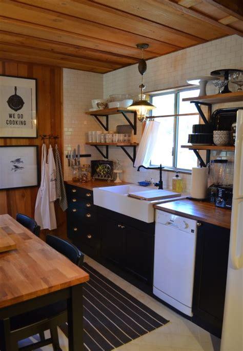 log cabin kitchen renovation  orange county