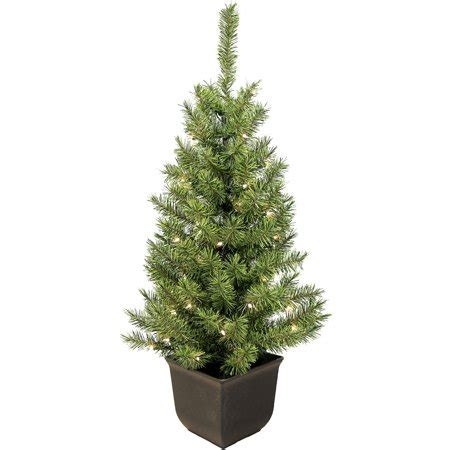 artificial christmas trees at wal mart pre lit 4 entryway artificial tree 35 clear lights walmart