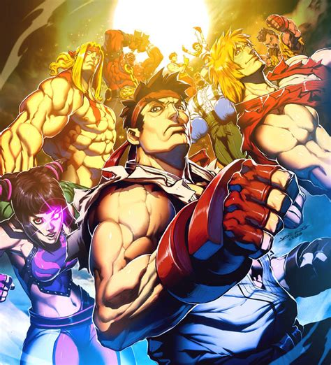 The Super Street Fighter Iv Vol 1 Comic Cover