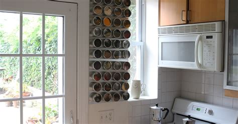 Make A Magnetic Spice Rack by 66 Square Plus How To Make A Magnetic Spice Rack