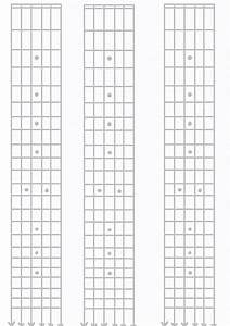 Musical Paper Of A Guitarist