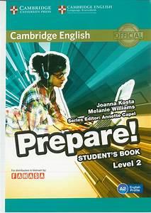 S U00e1ch  Cambridge English Prepare  Level 2 Student U2019s Book
