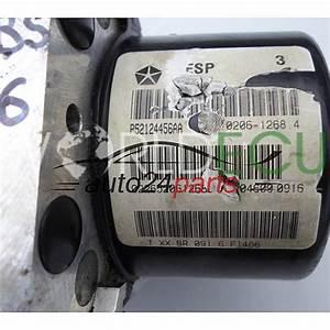 Abs Pump Module Jeep Grand Cherokee P52124456aa  Ate 25 0206