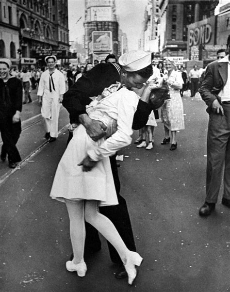The Story Behind the WWII V-J Day Kiss Photo