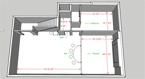 basement layout options home theater forum  systems
