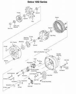 Alternator Components Diagram