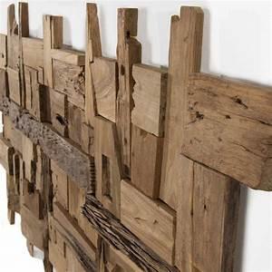 Décoration Murale En Bois : d coration murale en teck bois flott mod le n 11 ~ Dailycaller-alerts.com Idées de Décoration
