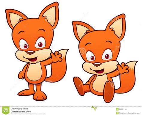 Cartoon Fox Stock Images