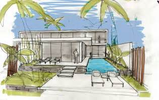 Decorative House Plan Sketches by Villa Design Sketch Interior Design Ideas