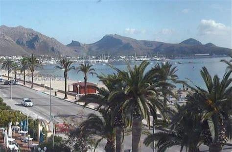 port de pollensa  weather webcam mallorca spain