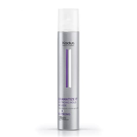 Kadus Dramatize It X-Strong Hold Mousse | Adel Professional