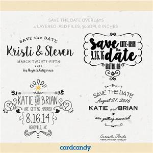 digital save the date overlays wedding photo card With electronic save the date template