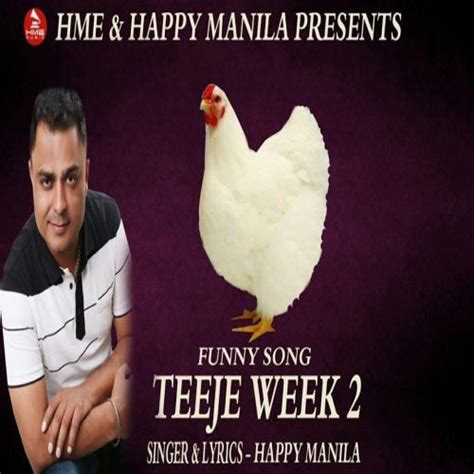 teeje week funny song happy manila single track