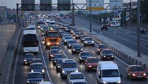 MOSCOW, RUSSIA - 2013: Traffic Jam On The Prospect Mria ...