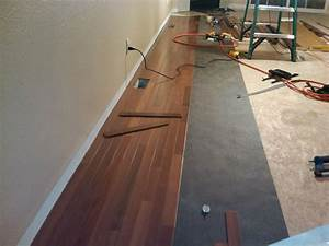 How to install wood floors in your living room evolving for Wood floor installation