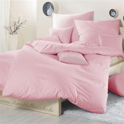 bettwäsche 200x200 rosa vichy karo bettw 228 sche rosa romantisch und verspielt