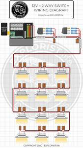 12v 2 Way Switch Wiring Diagram