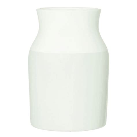 Large White Vase by Large Dipped White Vase By Iamia Notonthehighstreet