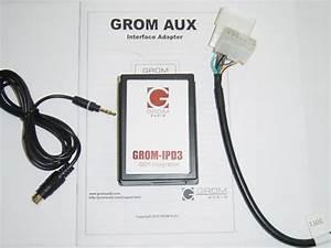 Grom Lexus 3 5mm Aux Audio In Adapter