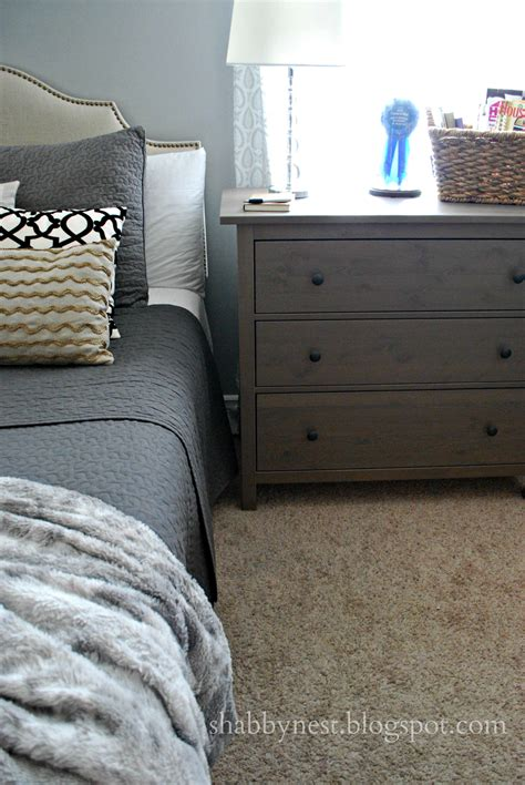 Using Dressers As Nightstands by The Shabby Nest Using Dressers As Nightstands
